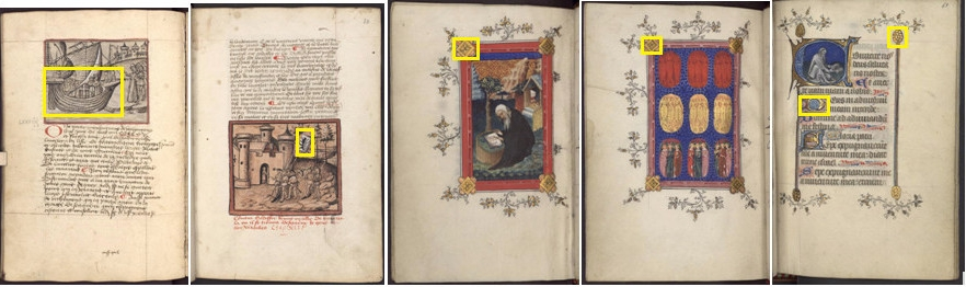 Example of image in DocExplore dataset
